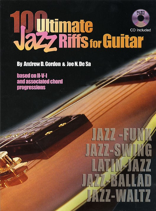 100 Ultimate Jazz Riffs for Guitar MIDI files