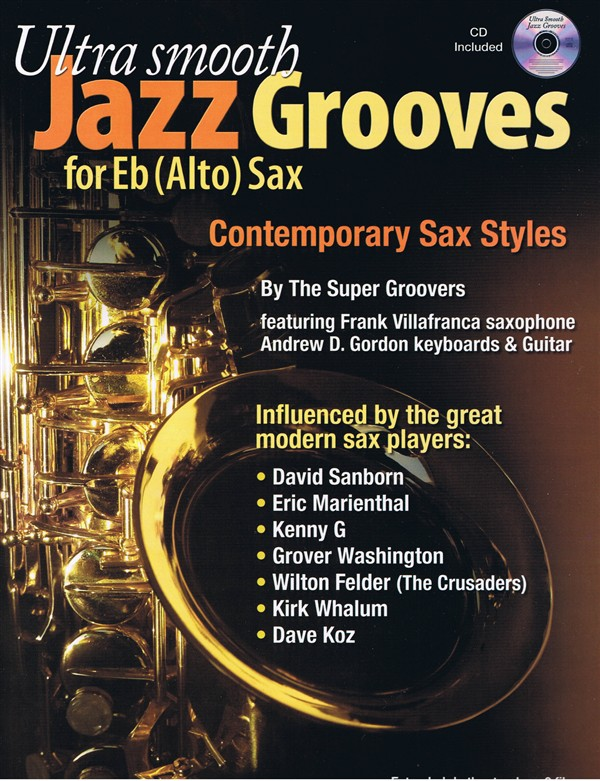 Ultra Smooth Jazz Grooves for Eb (alto) instruments PDF file