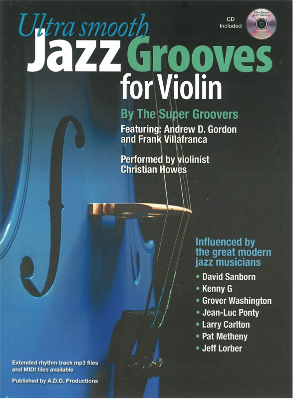 Ultra Smooth Jazz Grooves for Violin MIDI files
