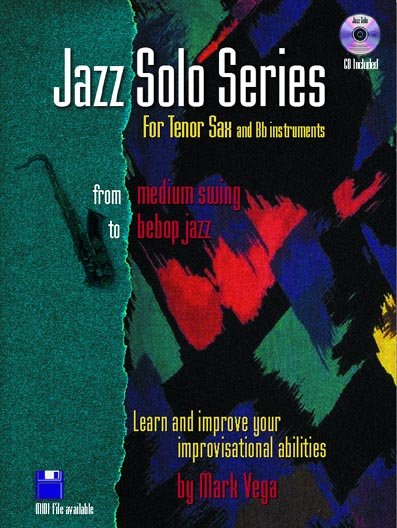Jazz Soloist Series For Bb, Tenor Saxophone