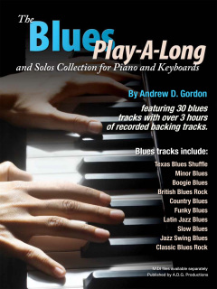The Blues Play-A-Long and Solos Collection for Piano/Keyboards PDF file