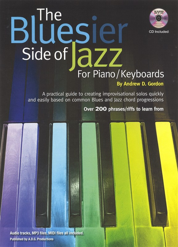The Bluesier Side Of Jazz for Piano/Keyboards/MIDI files