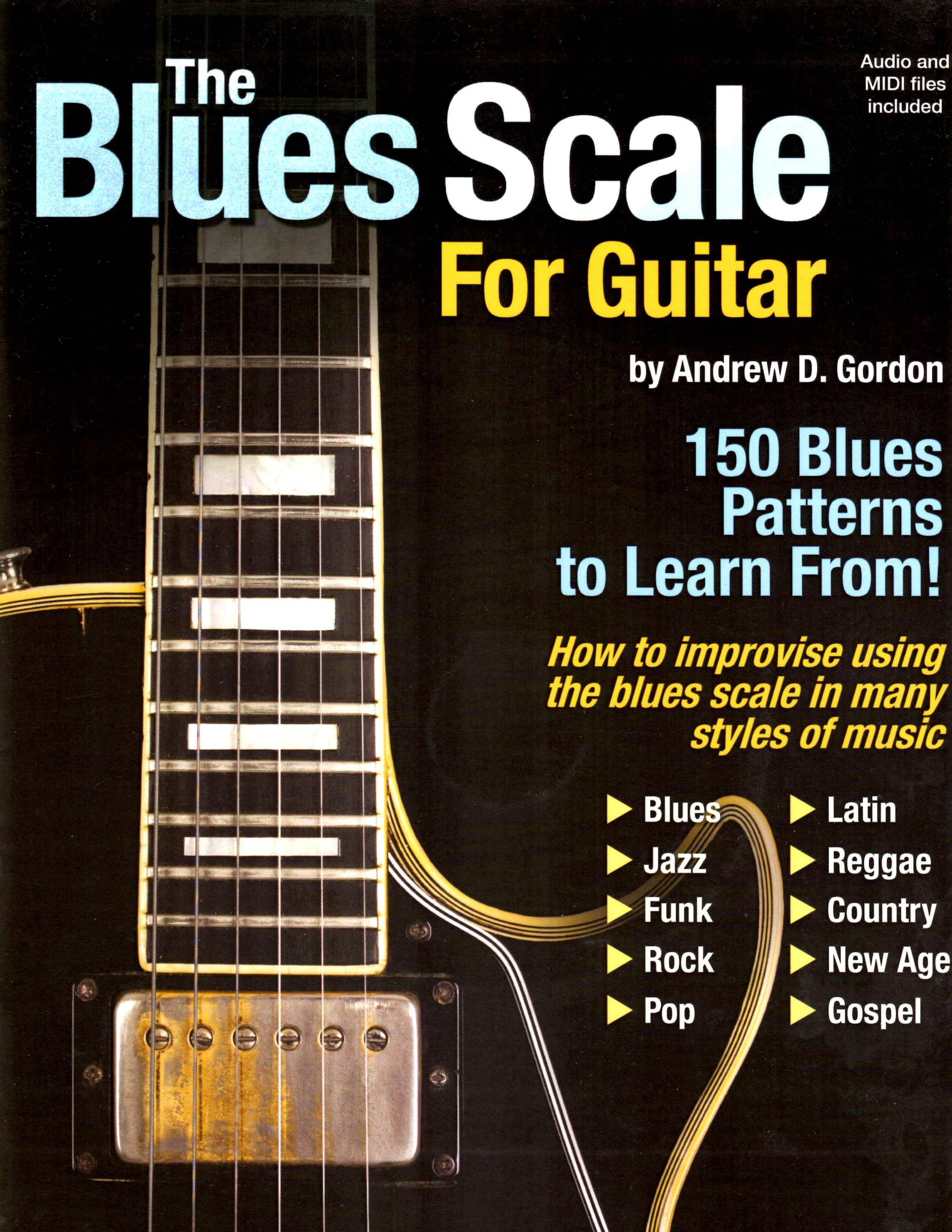 The Blues Scale for Guitar MIDI files