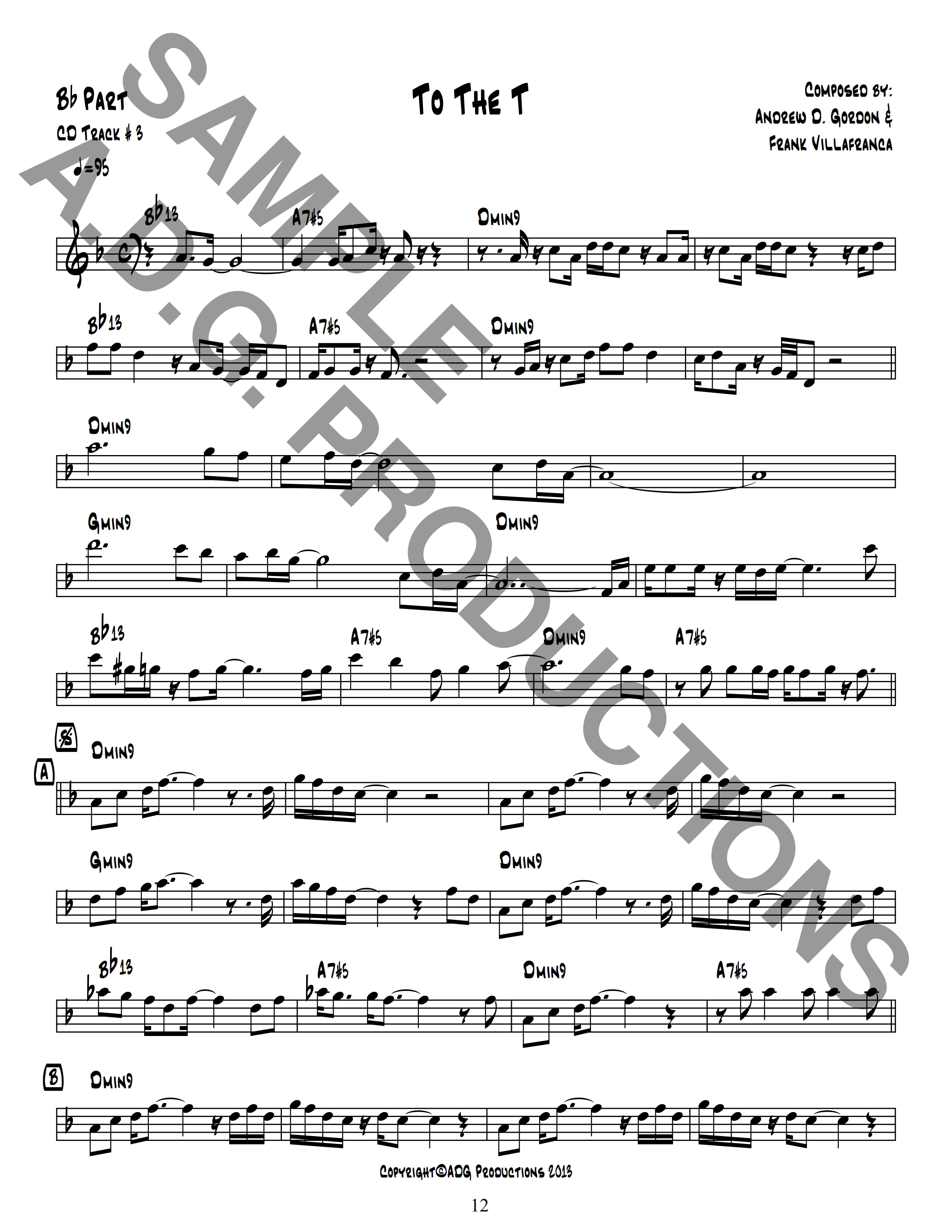 Ultra Smooth Jazz Play-A-Long Songbook for Bb & Eb instruments PDF/MP3 files