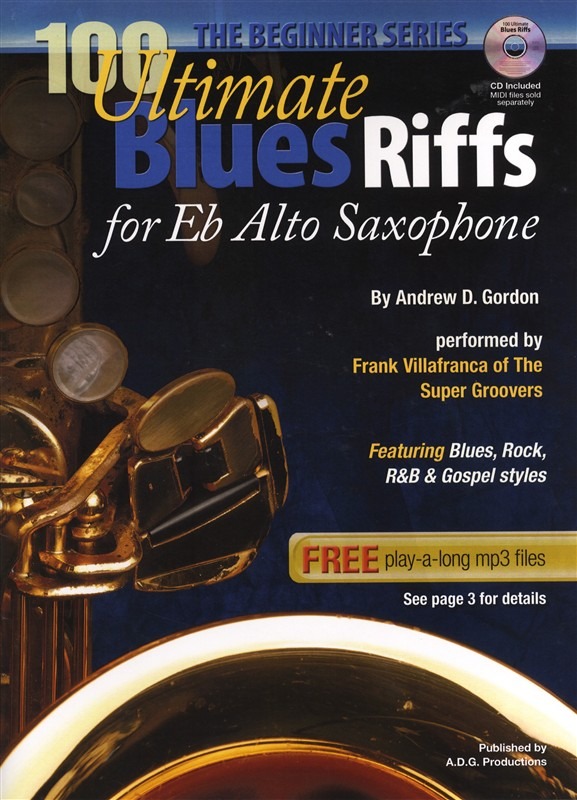blues saxophone instructional book. Black Bedroom Furniture Sets. Home Design Ideas